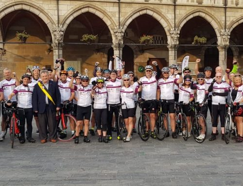 The 2018 Ride for Hope, sponsored by PIDY is underway…