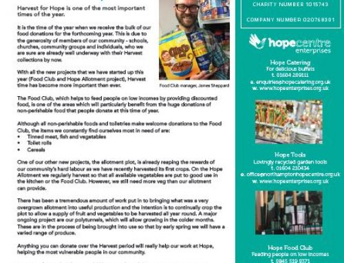 Hope Newsletter Autumn 2018