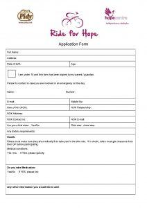 Application Form image for website